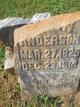Profile photo:  Anderson