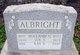 Mrs Sue <I>Freed</I> Albright