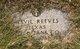 "Arvil Williams ""Arvie"" Reeves"