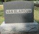 "Elizabeth Hallie ""Betty"" <I>Dean</I> Van Blaricum"