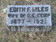 Edith F Kemp