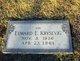 Edward E Krysevig