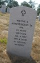 Profile photo:  Wayne L. Armstrong Sr.
