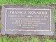 Profile photo:  Frank J Novarro
