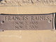 Frances <I>Raines</I> Babb