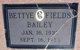 Betty Fields Bailey