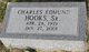 "Charles Edmund ""Babe"" Hooks, Sr"