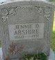 Profile photo:  Jennie <I>Deeds</I> Abshire