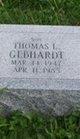 "Thomas L ""Tommy"" Gebhardt"