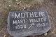Mary <I>Kramm</I> Walter