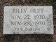 Profile photo:  Billy Huff