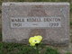 Profile photo:  Mable M <I>Peckham</I> Denton