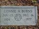 Connie Elizabeth <I>Allen</I> Burns
