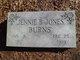 Jennie B <I>Jones</I> Burns