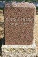 """Arminda """"Minnie"""" <I>McGahuey</I> Tharp"""