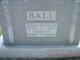 Annie M <I>Griffin</I> Ball