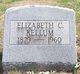 Elizabeth <I>Clark</I> Kellum