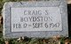 Craig Studdard Boydston