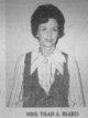 Betty Ann <I>Gibson</I> Biard