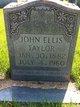 John Ellis Taylor