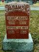 Sophia <I>Blackstone</I> Adams