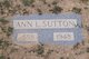 Anna Jane <I>Lewis</I> Sutton