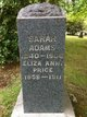 Eliza Ann <I>Adams</I> Price