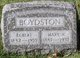 "Egbert ""Bert"" Boydston"