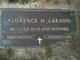 Florence H Larson