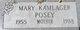 Mary Catherine <I>Kamlager</I> Posey