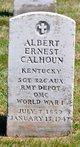 """Profile photo:   Albert Ernest """" """" <I> </I> Calhoun,"""