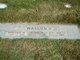 Marjorie Marie <I>Pentico</I> Watson