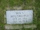Don S. Houskeeper