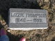 "Lydia Elizabeth ""Lizzie"" <I>Wilson</I> Thompson"