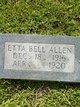 Profile photo:  Etta Bell Allen
