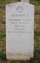 Profile photo:  Esther S. <I>Wood</I> Barndollar