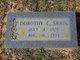 Dorothy Jeannette <I>Culverhouse</I> Swain