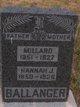Profile photo:  Hannah Jane <I>Dykes</I> Ballanger