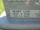 Mary Lou <I>Noble</I> Fry