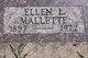 Ellen Lucille <I>Doran</I> Mallette
