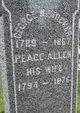 Peace <I>Allen</I> Stocker