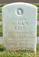 """John Mc Nair """" """" <I> </I> Ealy,"""