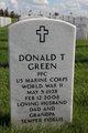 PFC Donald T Green