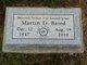 Martin D Baird