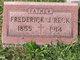 "Frederick J. ""Fritz"" Reck"