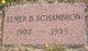 Elmer Burton Schambron
