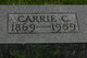 Carrie Elizabeth <I>Cooper</I> Felknor