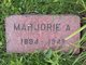 Marjorie A <I>Strout</I> Wallace