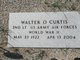 2LT Walter Ordway Curtis