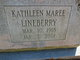 Profile photo:  Kathleen Maree Lineberry